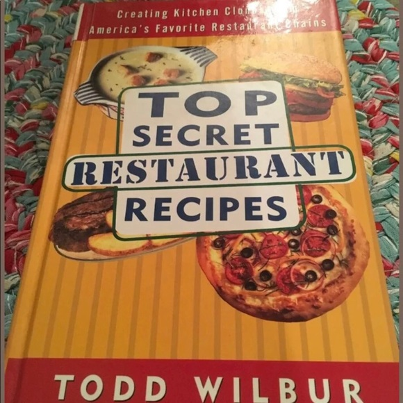 Top Secret Restaurant Recipes Cook Book